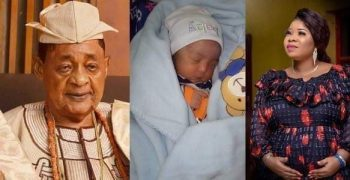 ALAFIN OF OYO OBA ADEYEMI&QUEEN MOJISOLA WELCOMES NEW BABY