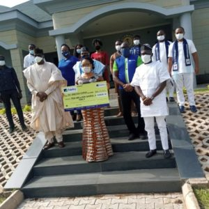Covid-19: Fidelity Bank Partners ESLF To Cater For the Less Privileged In Benue State
