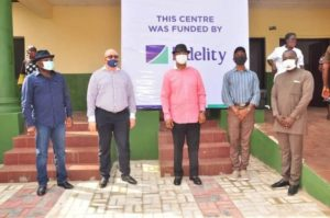 COVID-19: Fidelity Bank Donates Isolation Centre To Anambra State