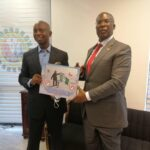 Prince Ned Nwoko Presents the Malaria Project to Minister of State for Petroleum, Timipre Sylva